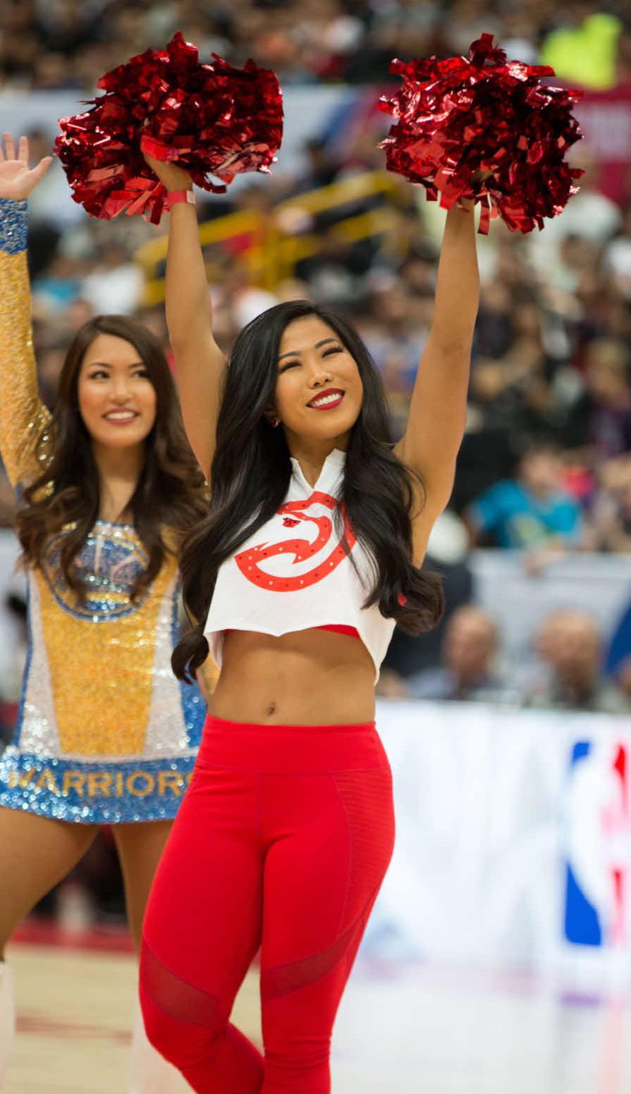 NBA Japan Gamesで(C)Atlanta Hawks