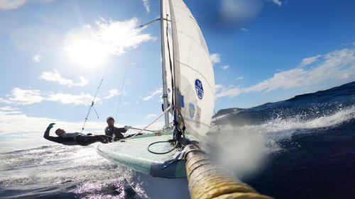 Photo of A masterpiece of the Sailing Olympics! With GoPro video