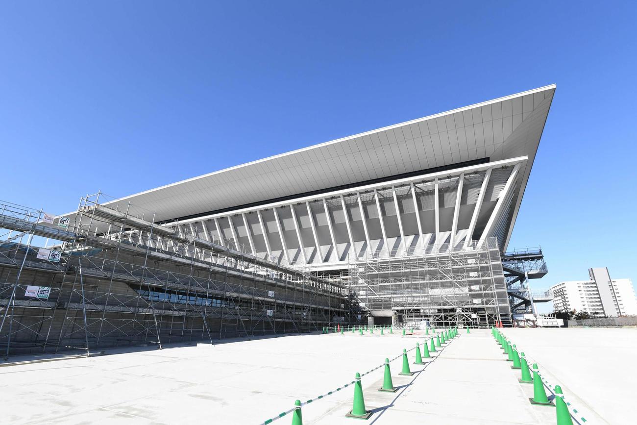 日本選手権が行われる予定だった東京アクアティクスセンター