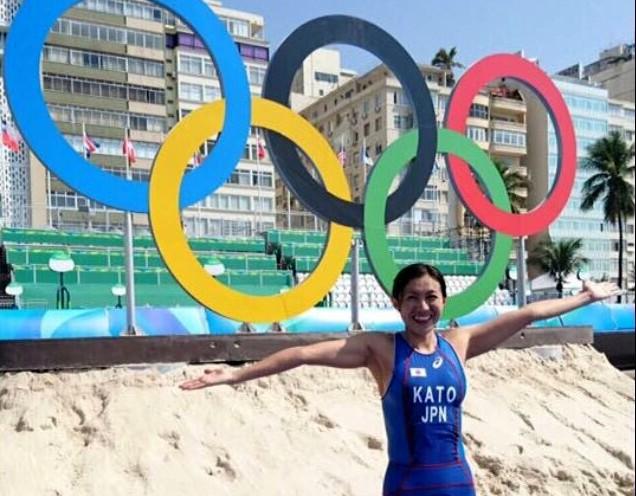 リオデジャネイロオリンピックでの筆者