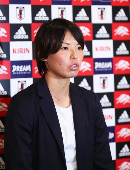 なでしこジャパン主将の熊谷紗希