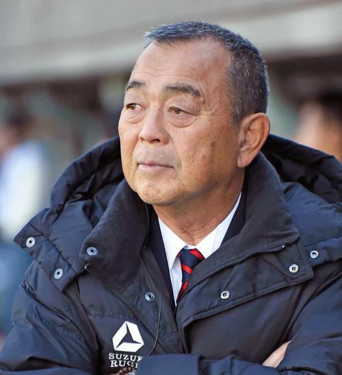 今季限りで勇退する京産大ラグビー部の大西健監督(撮影・真柴健)