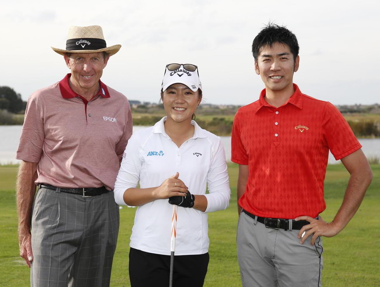 レッドベター(左)はリディア・コ(中央)ら多くの選手を世界一に導いた