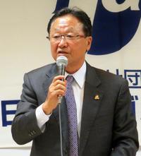 倉本昌弘強化委員長(2018年3月22日撮影)