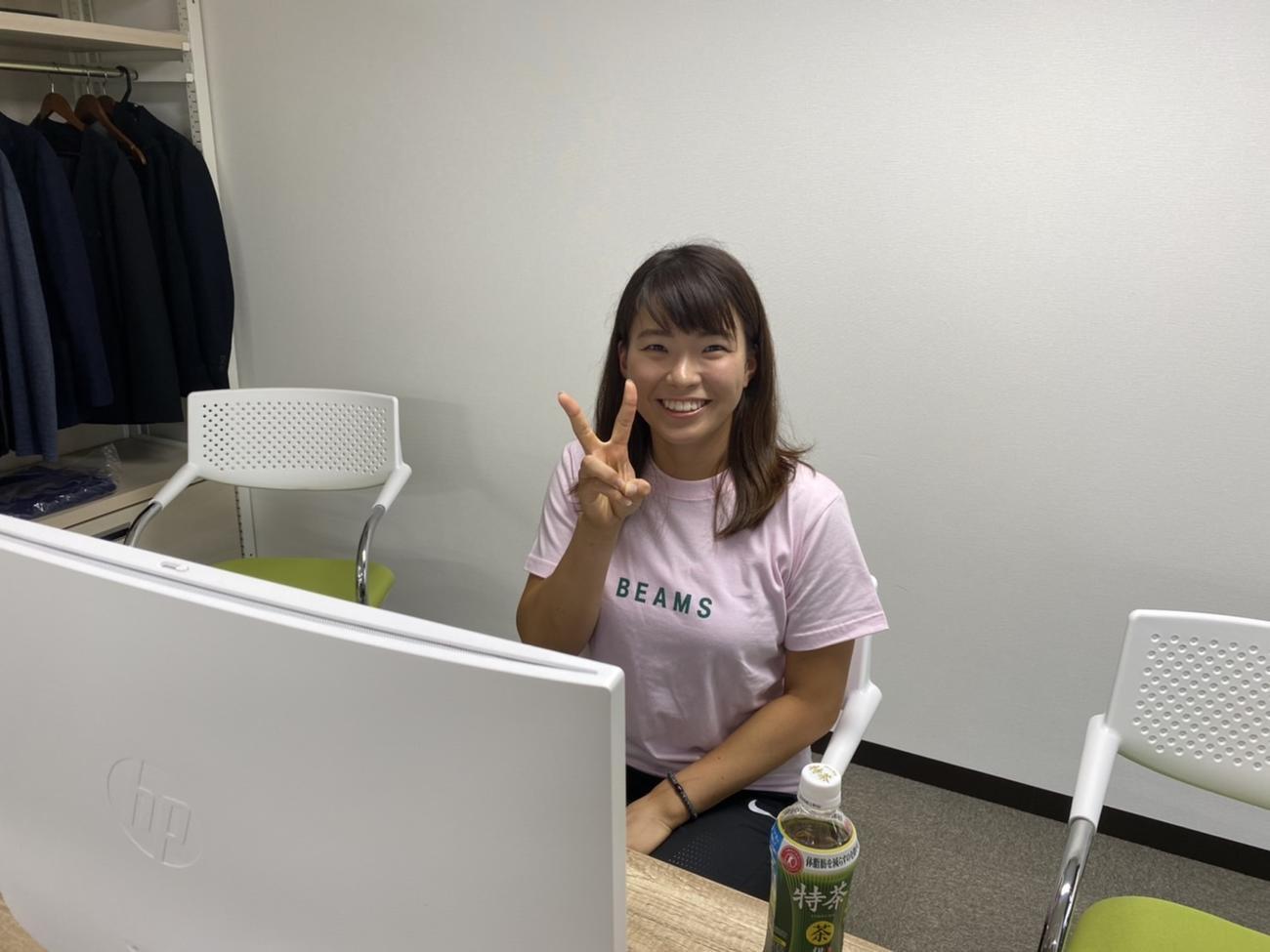 オンライン会見を行った渋野(事務所提供)
