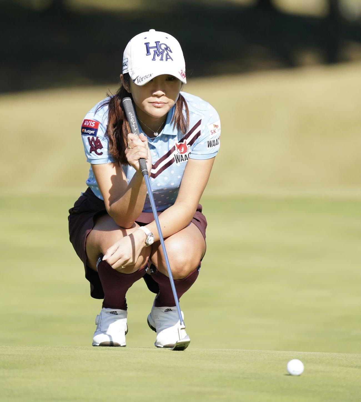 賞金女王レースに急浮上! 女子ゴルフ界の「超新星」稲見萌寧