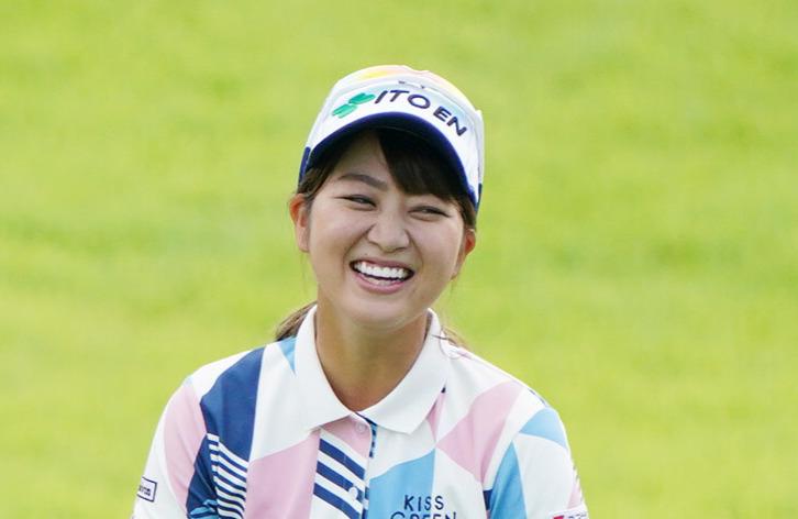 笑顔の田辺ひかり(2020年9月17日撮影)