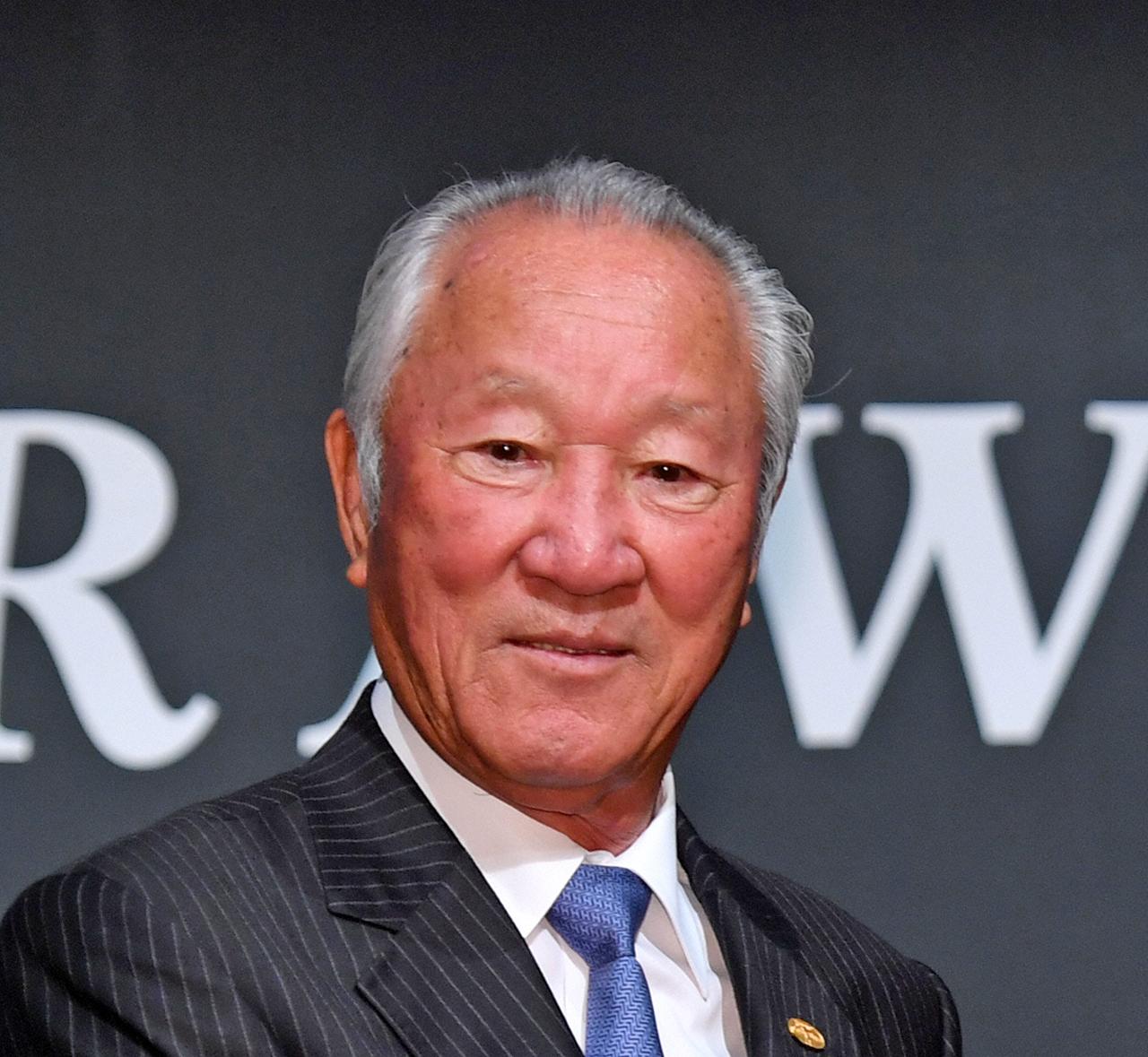 日本ゴルフツアー機構(JGTO)の青木功会長