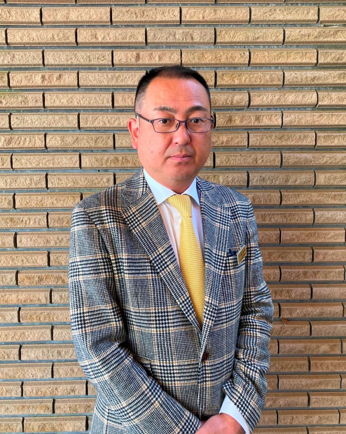 太平洋クラブ御殿場コース・小林泰隆支配人(本人提供)