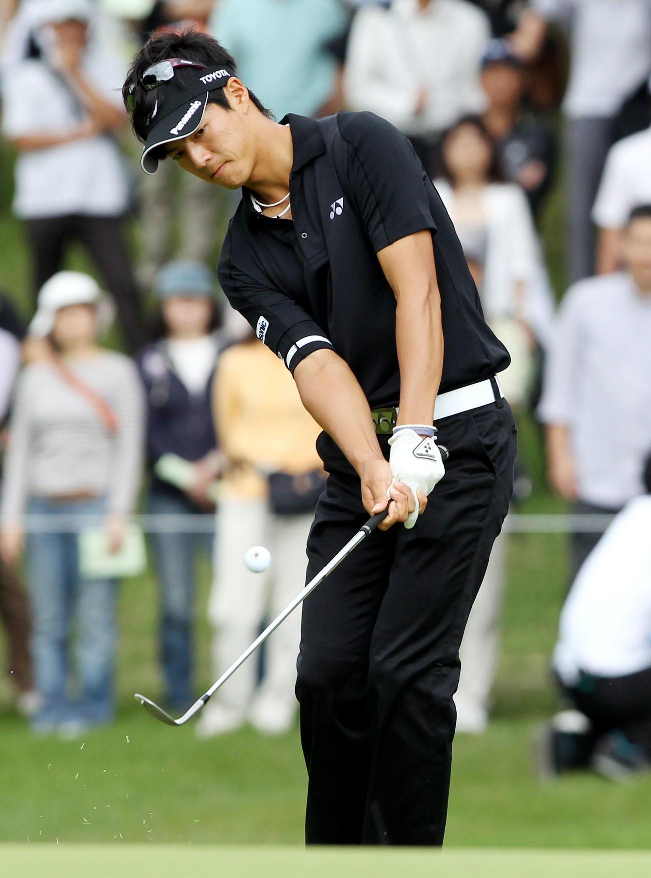 石川遼(2010年10月15日撮影)