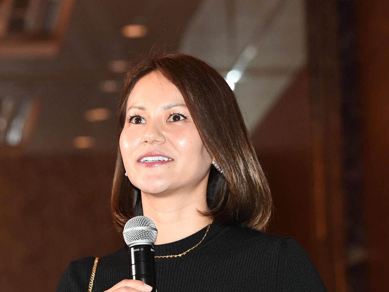宮里藍さん(2019年5月7日撮影)