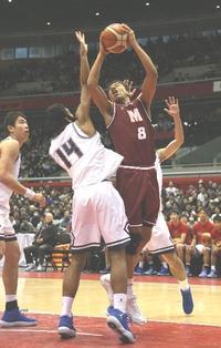 明成・八村阿蓮、兄塁の激励力にV「1歩近づいた」 - バスケット : 日刊スポーツ