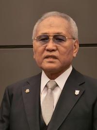 大阪市内で会見を開き、辞任の意向を表明した山根明会長
