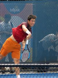 錦織が練習 211cmカロビッチとの2回戦を想定 - テニス : 日刊スポーツ