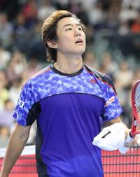 西岡良仁、初の3回戦進出逃す「体が動かなかった」 - テニス : 日刊スポーツ