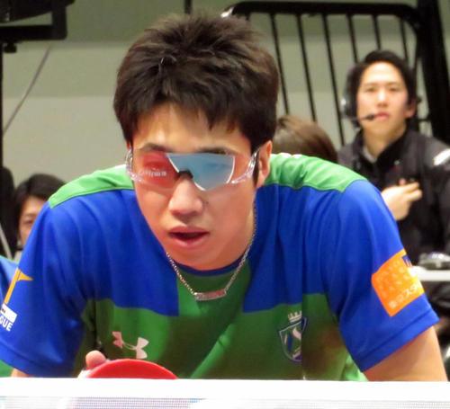 水谷隼(19年2月24日撮影)