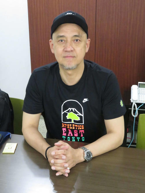 NBAドラフトについて語る塚本清彦氏