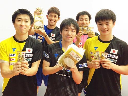 卓球の日本代表男子