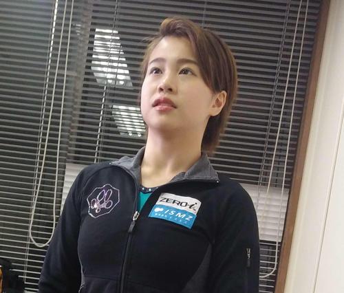 体操の全日本学生選手権で個人総合初優勝した杉原愛子