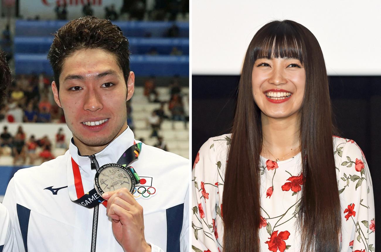 萩野公介とmiwaが結婚 妊娠中で今冬に出産予定 , 水泳