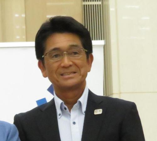 JOC福井烈専務理事(2019年7月3日撮影)