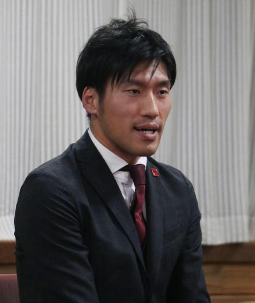 V1昇格を目指すヴォレアス北海道の降旗GM(撮影・浅水友輝)