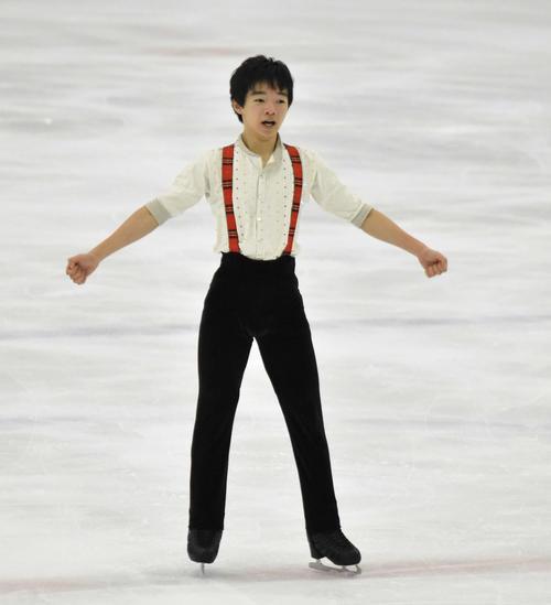 全日本ジュニア選手権で初優勝した鍵山優真