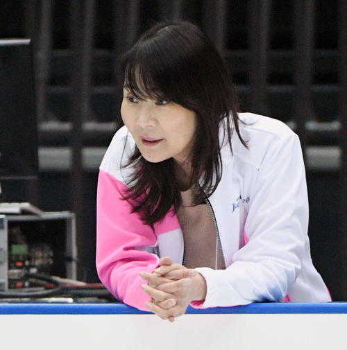 浜田美栄コーチ(19年撮影)