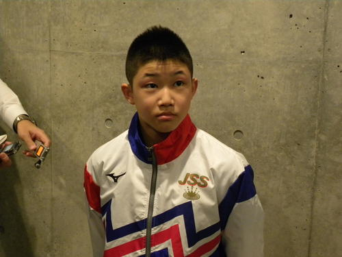 飛び込み13歳玉井陸斗、五輪へ「3禁」自己管理