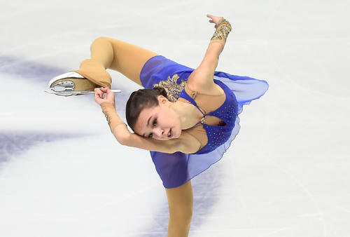 Shelvakova's free acting in 2nd place [Reuters]