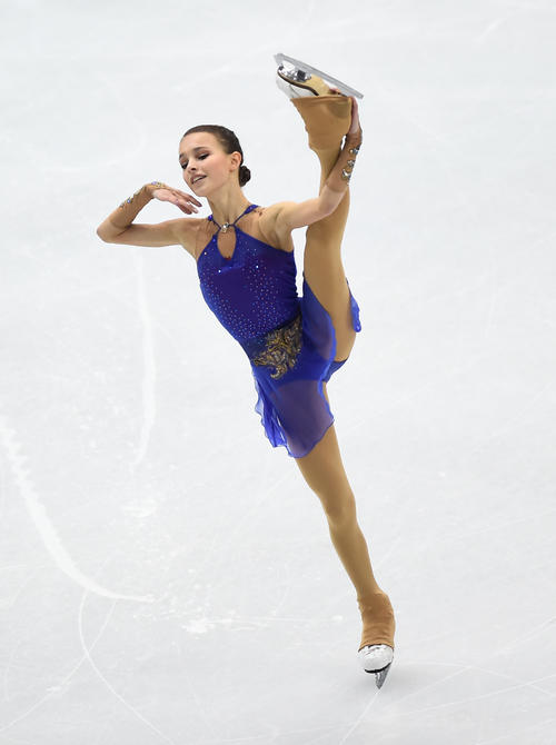 Shelvakova's flow performance in 2nd place [Reuters]