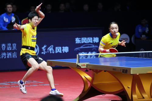 Mizutani, Ito pair [December 13, 19] who decided to advance to the final in mixed doubles