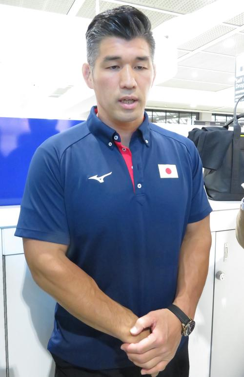 """Photo of Judo director Yasuo Inoue's theme for Tokyo Olympics is """"offensive"""""""