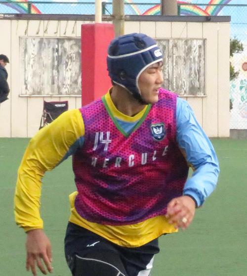 Photo of 桐蔭学園WTB西川、先輩松島幸太朗の活躍に刺激