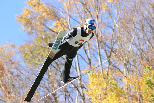 Photo of Ryoyu Kobayashi, aiming for two consecutive victories, is 14th in World Cup Jump Men