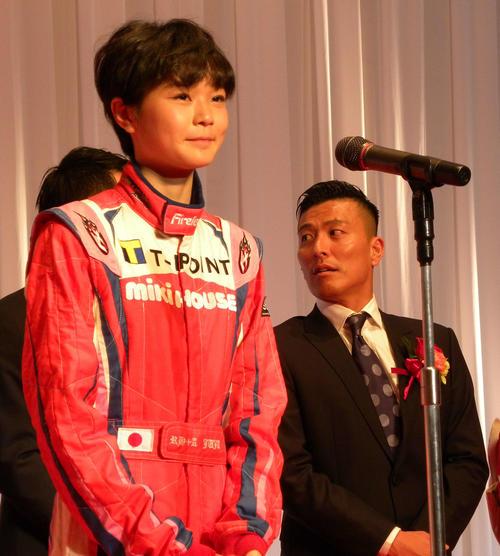 """Photo of Hideki Noda's daughter Juju """"I dream of going to F1"""""""
