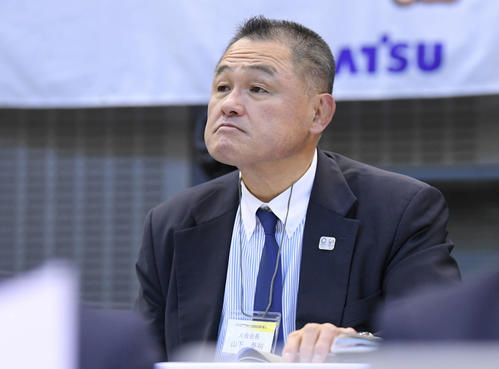 Photo of Yasuhiro Yamashita elected as new IOC member at Lausanne General Assembly