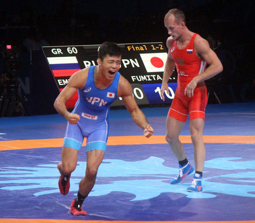 "Photo of Wrestling Fumida ""Iyoyo"" Olympic training camp started"