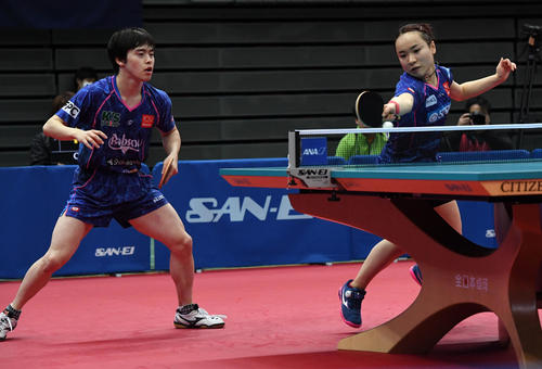 Photo of Mito Ito wins fourth round of mixed doubles