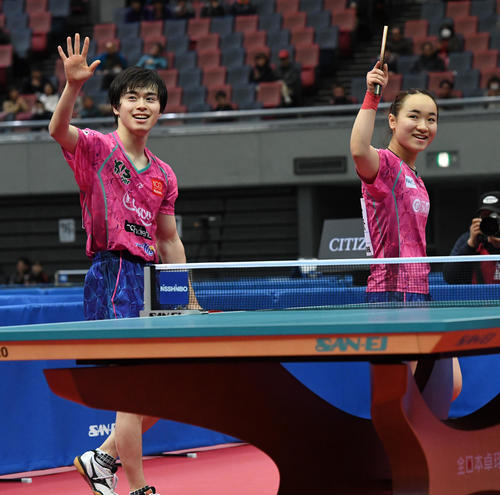 Photo of 伊藤美誠4試合も「体力持つ」3年連続3冠まず1冠