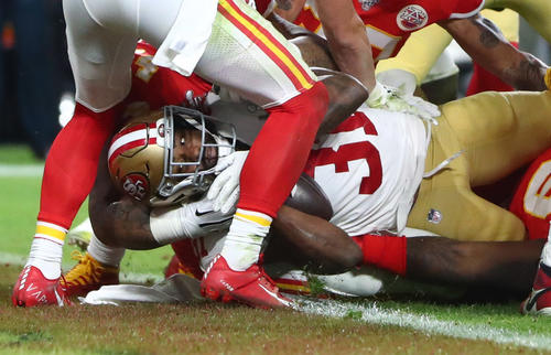 3rd Q: 49ers starter to decide touchdown [Reuters]