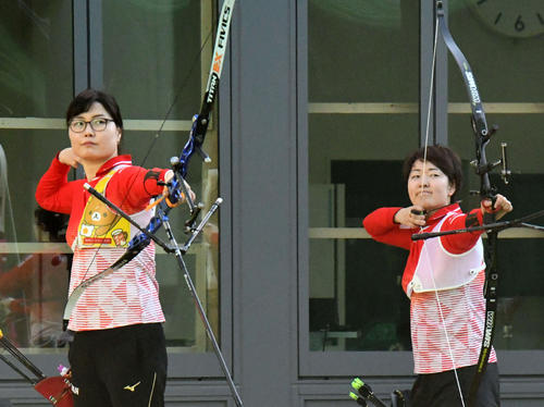 Photo of Archery Ren Hayakawa aims for Olympics with her husband's meal support