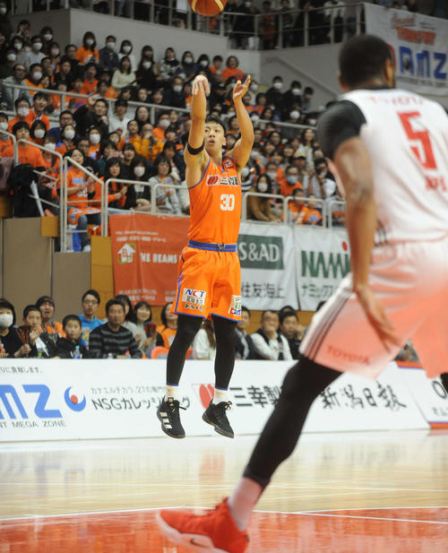 Photo of Niigata Imamura Keita selected as candidate for national team: 27 points against A Tokyo
