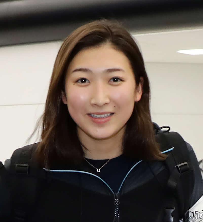 競泳女子の池江璃花子(18年12月24日撮影)