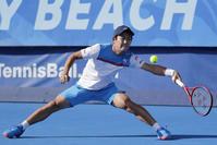 西岡良仁、優勝にあとわずかも自己最高位更新48位 - テニス : 日刊スポーツ