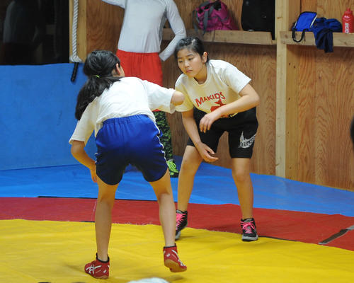 Photo of Mashima ranks 3rd in the 44kg class National boy and girl wrestling