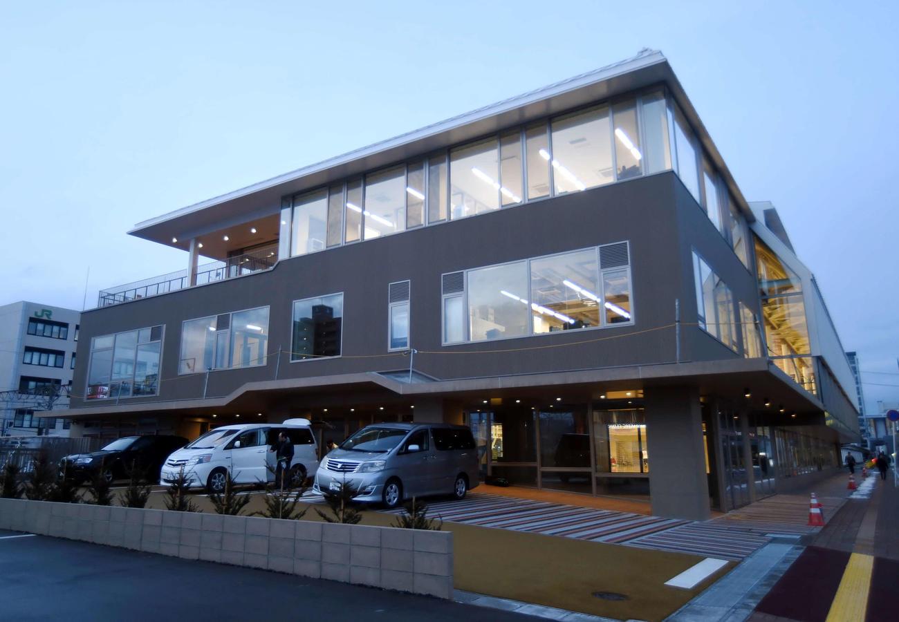 秋田ノーザンゲートスクエアの外観