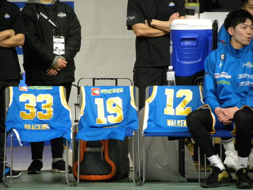 Photo of 3 players who miss B1 Shiga 相 談 Scheduled consultation at the beginning of the week
