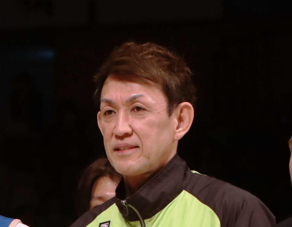 折茂武彦(2020年1月25日撮影)
