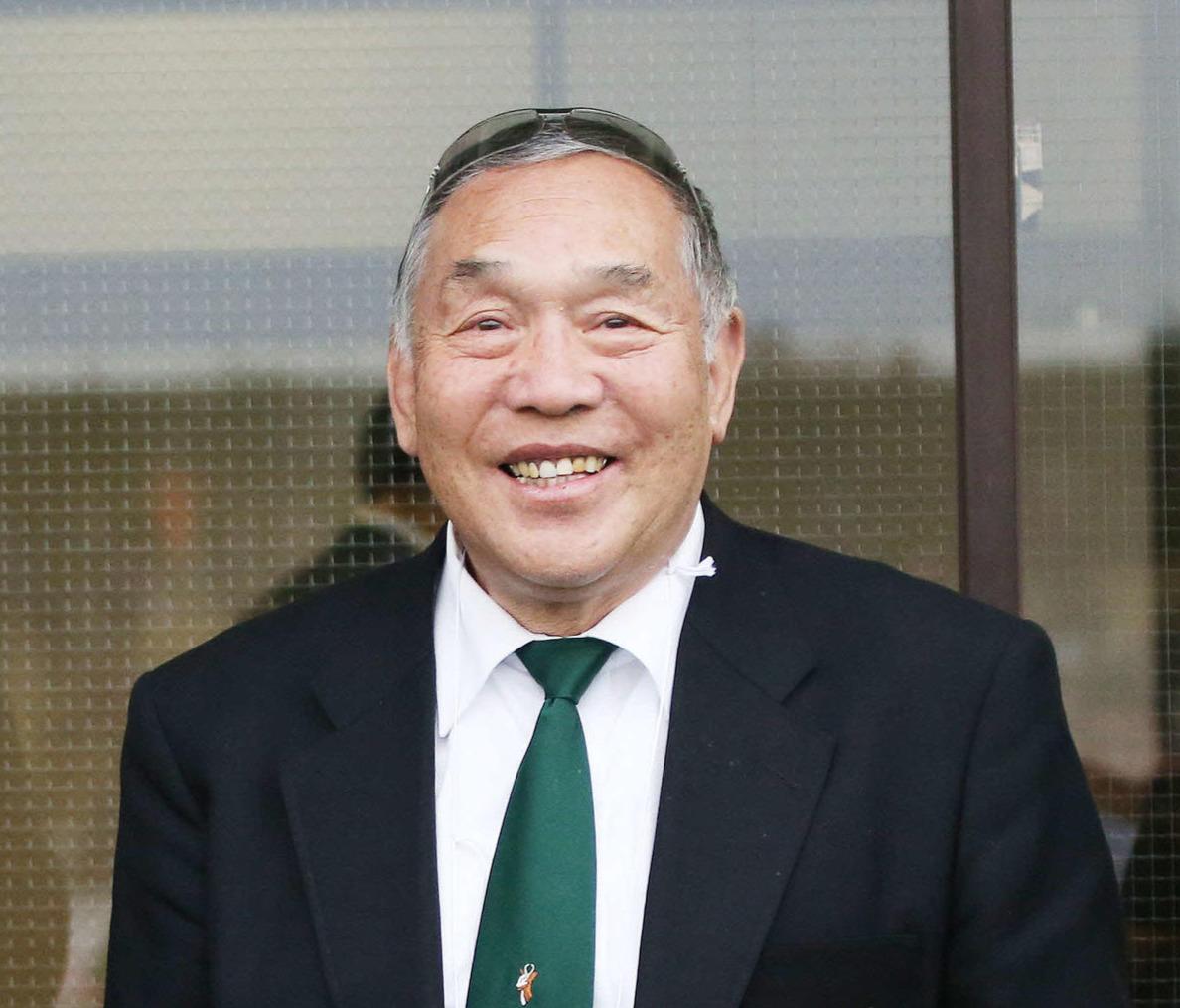 関西ラグビー協会会長の坂田好弘氏